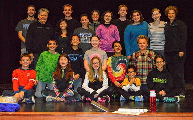 The+group+and+the+children+take+center+stage+for+a+photo+opportunity.+