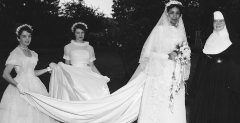 Maud Wadestrandt, the May Queen of 1958.