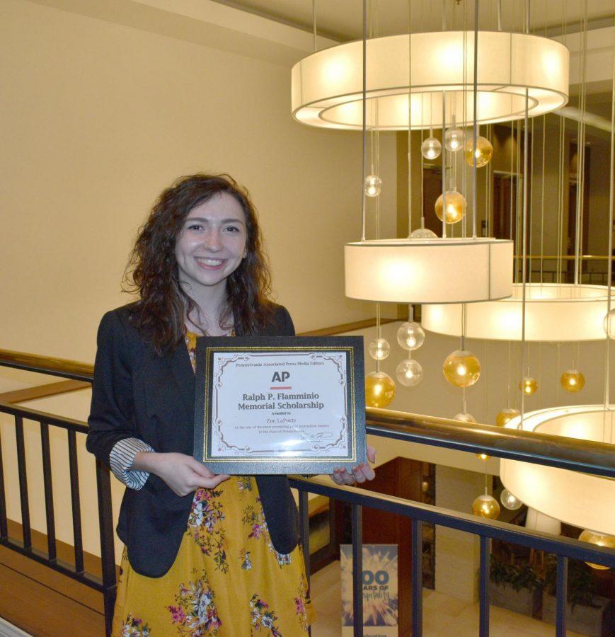 English Major Wins Scholarship Award