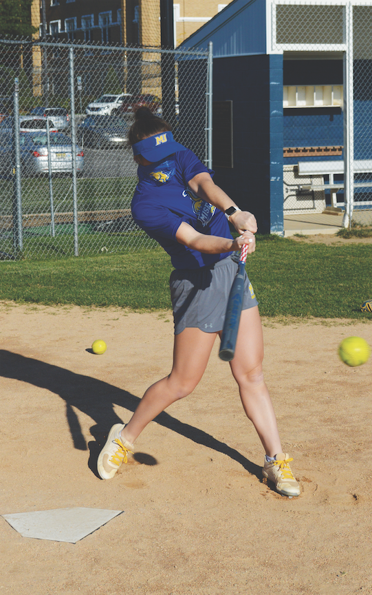 Softball Players Use the 'Family' Technique