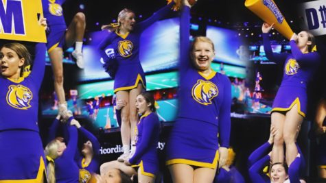 Cheerleading Team Finds Creative Ways of Bonding