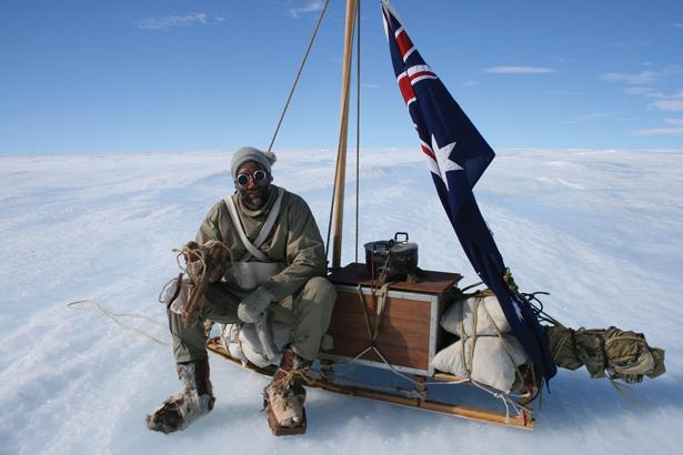 Polar explorer, environmental scientist, author and adventurer Tim Jarvis AM poses for a picture during his Mawson expedition to Antarctica. Jarvis along with MU professors will deliver a series of lectures the week of March 23rd in the Lemmond Theater.