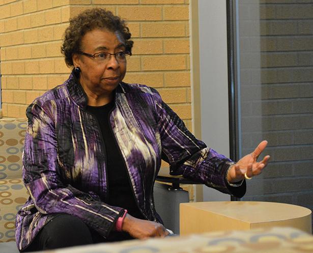 Barbara+Thompson%2C+a+longtime+civil+rights+activist.
