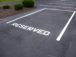 Students can win reserved campus parking spots as part of a contest benefiting the Occupational Therapy 470 class.