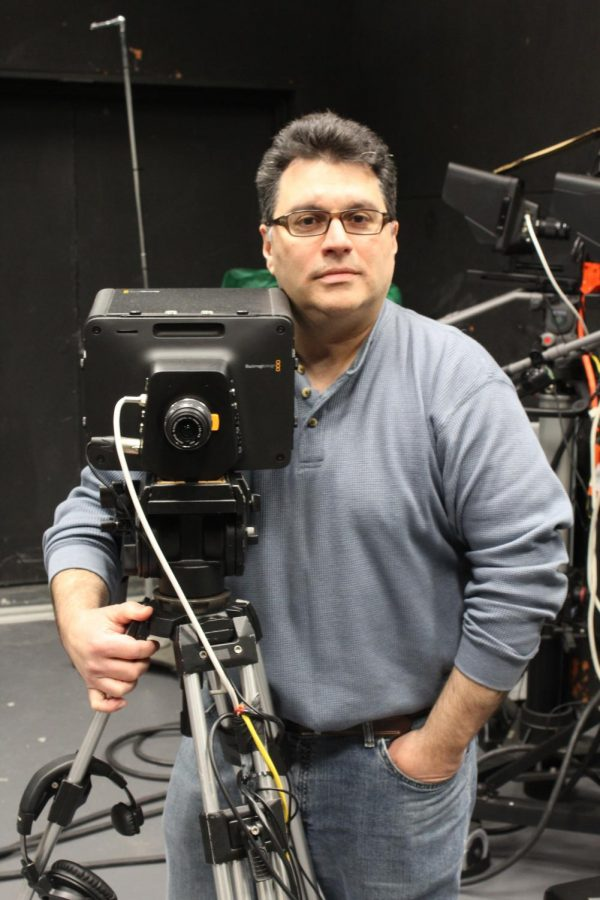 Anthony DelRegno, the newest addition to the department of Mass Communications and Design, brings many years of  experience as a television promotions producer and filmmaker.