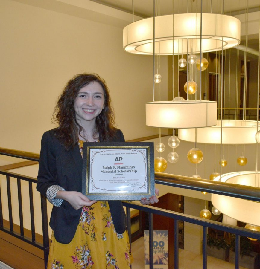 English Major Wins Scholarship Award
