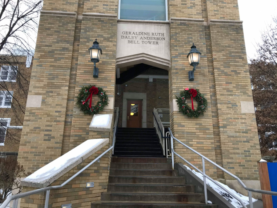 Wreaths Hanging on Mercy