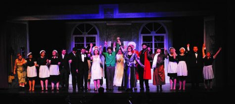 "Curtain call for ""The Drowsy Chaperone"" performed on Nov 21-24, 2019"