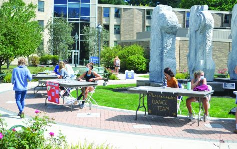 Misericordia's first outside club fair Sept. 4